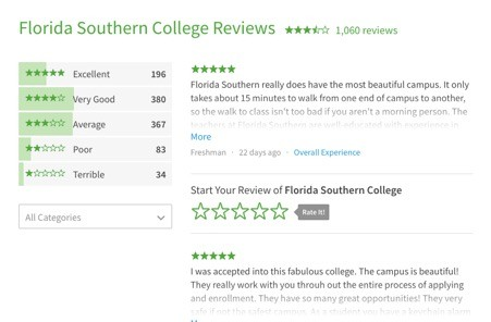 Review on the Florida Southern College Portal